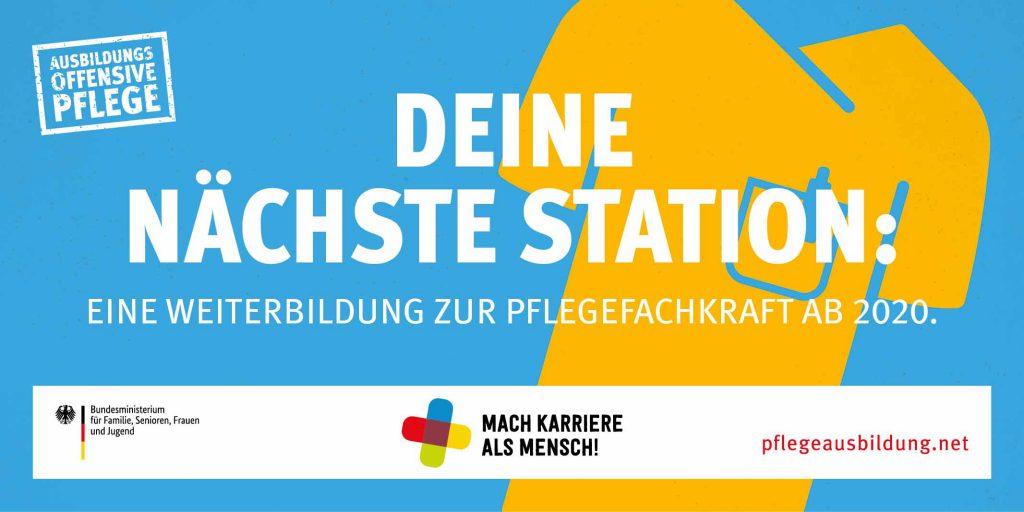 BMFSFJ Informationskampagne Pflegeausbildung