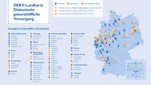 DEKV Landkarte Geburtshilfliche Versorgung