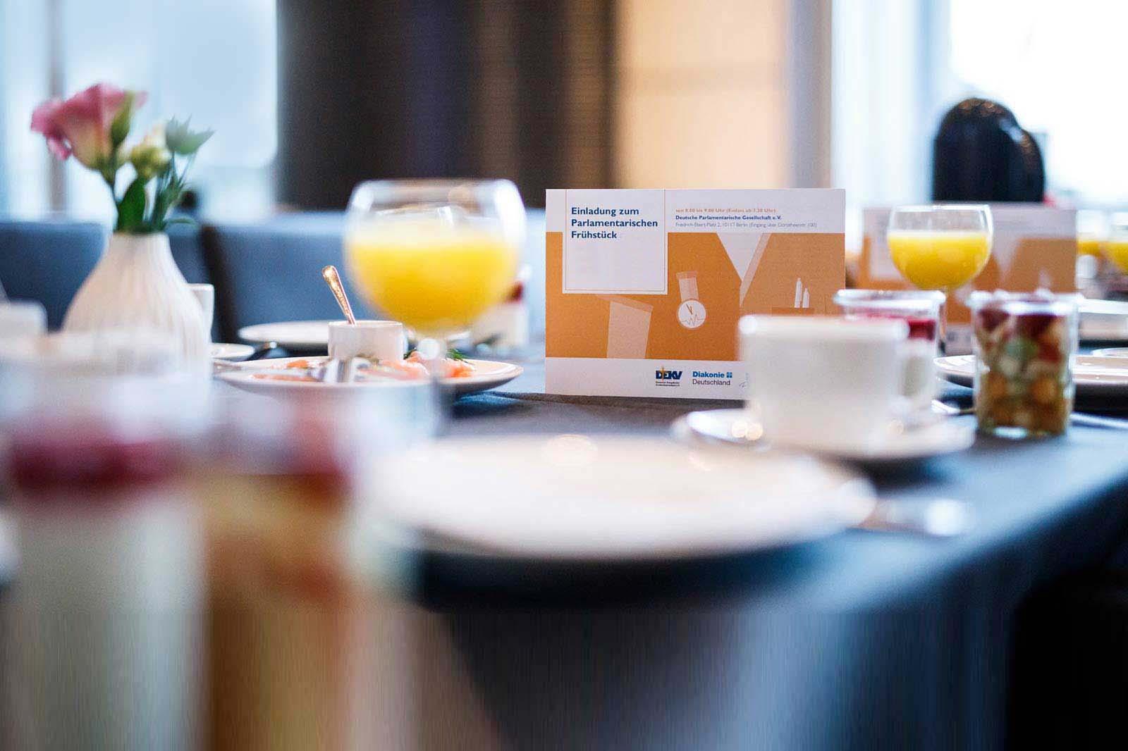 Parlamentarisches Frühstück